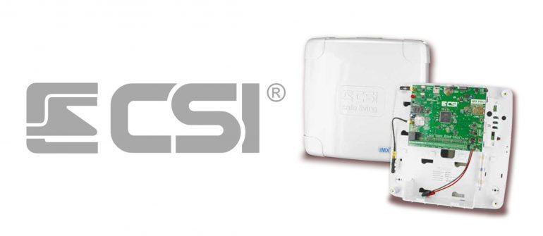 CSI presenta: iMX Pro – centrale allarme