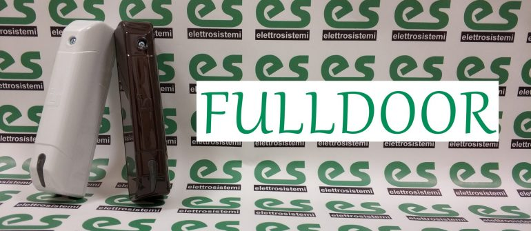 FULLDOOR: contatto radio con funzioni complete!