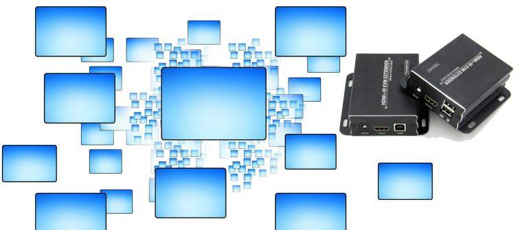 ES-RSHUI: uno dei migliori Extender HDMI con funzione USB